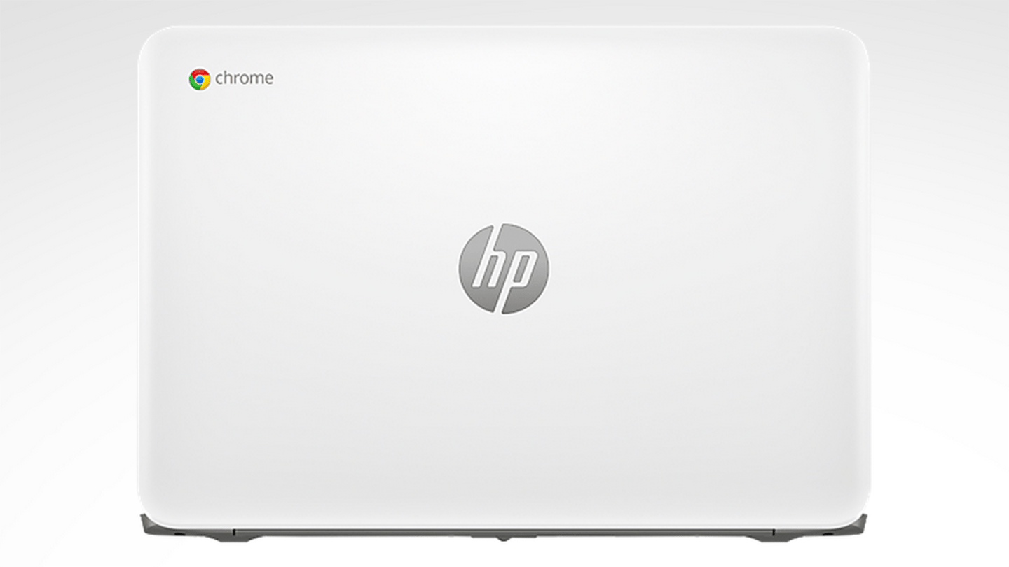 The touchscreen version of the Chromebook 14 is offered in white only