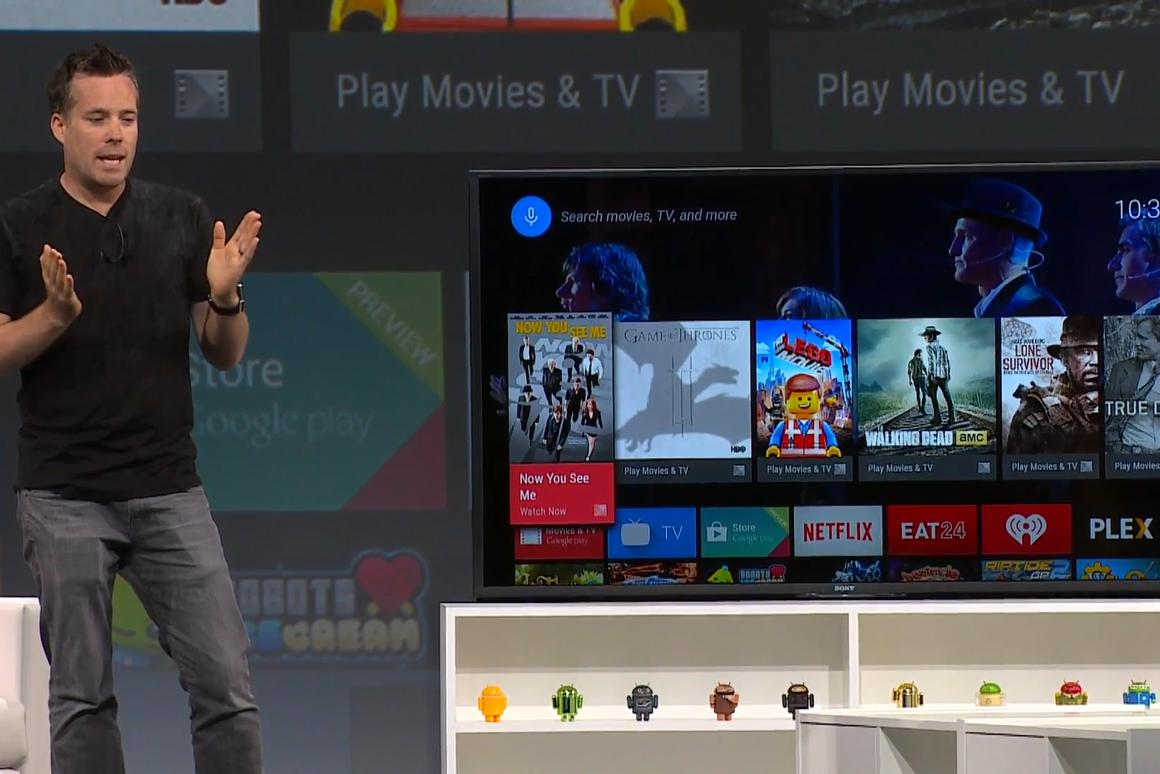 Google is making a bid for the living room with Android TV