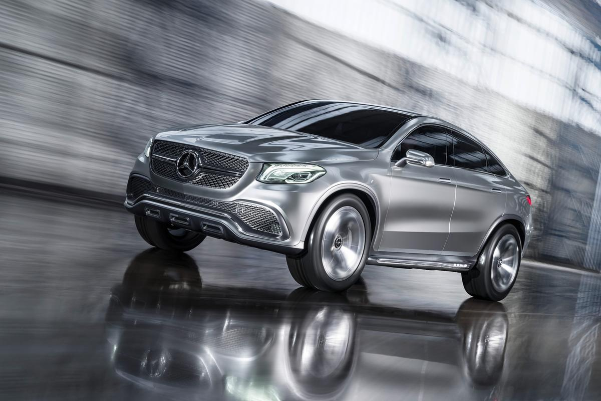 The Concept Coupé SUV hints at an expansion of Mercedes' SUV range