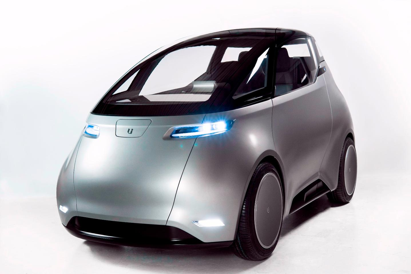 The two-seat One is the first in a line of electric vehicles from Sweden's Uniti