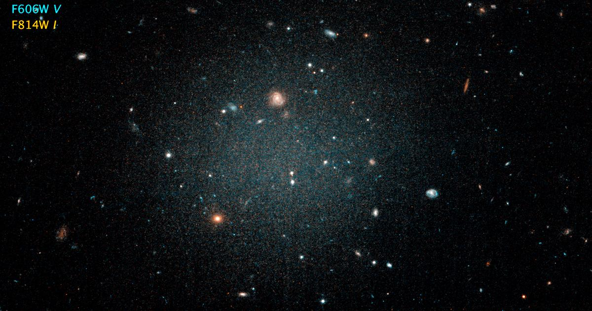 Strangely light galaxies could imply new model for dark matter