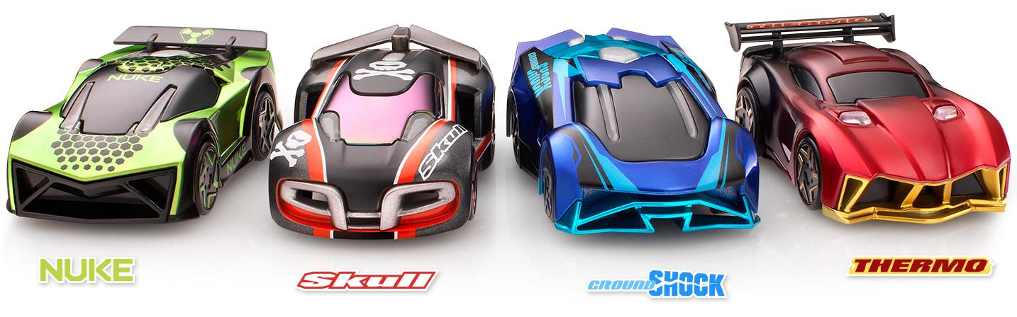 The cars with Anki Overdrive have been given a design upgrade and can be controlled by distinct artificial intelligence personalities