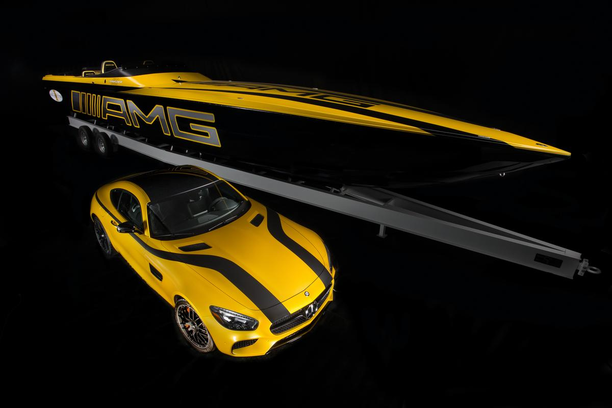 The one-off GT S boat is priced at $1.2 million