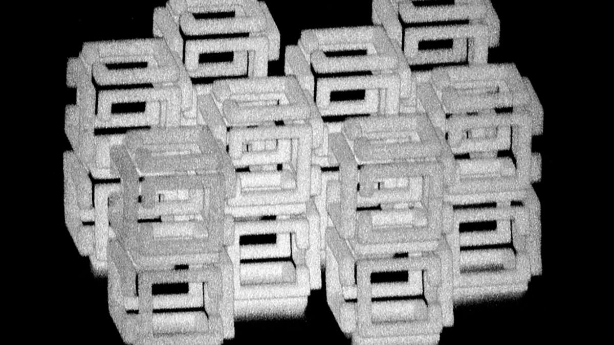 Using a new technique, scientists can shrink structures down to the nanoscale