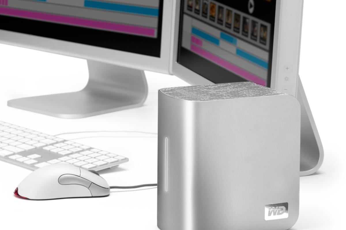 Western Digital has announced the release of the new 6TB, Mac-ready My Book Studio Edition II dual-drive storage system