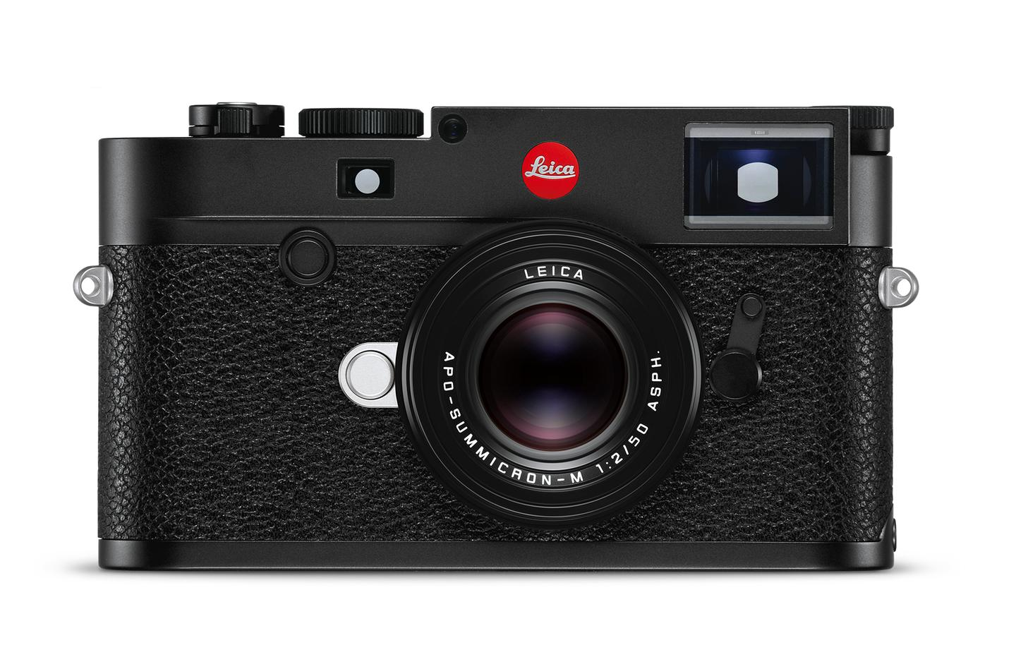 The M10-R flagship works with Leica M-mount lenses