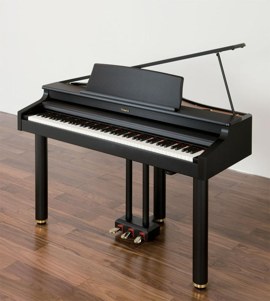 RG-1F is said to offer players high-end piano sound, playability and performance with a classy grand piano look