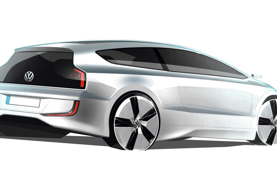 VW's UP! Lite Concept Car – the world's most efficient four