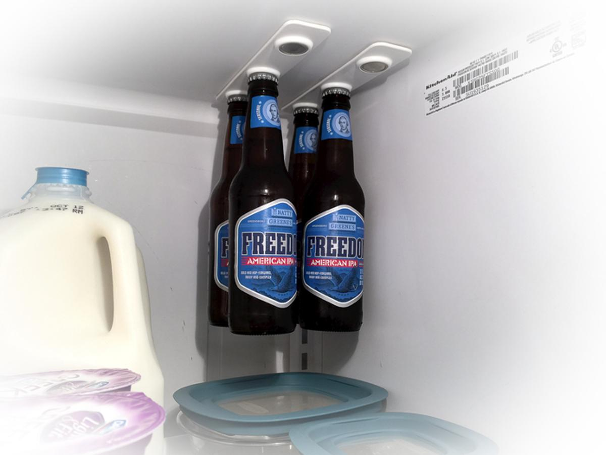 BottleLoft can be used for all kinds of drinks, including beer