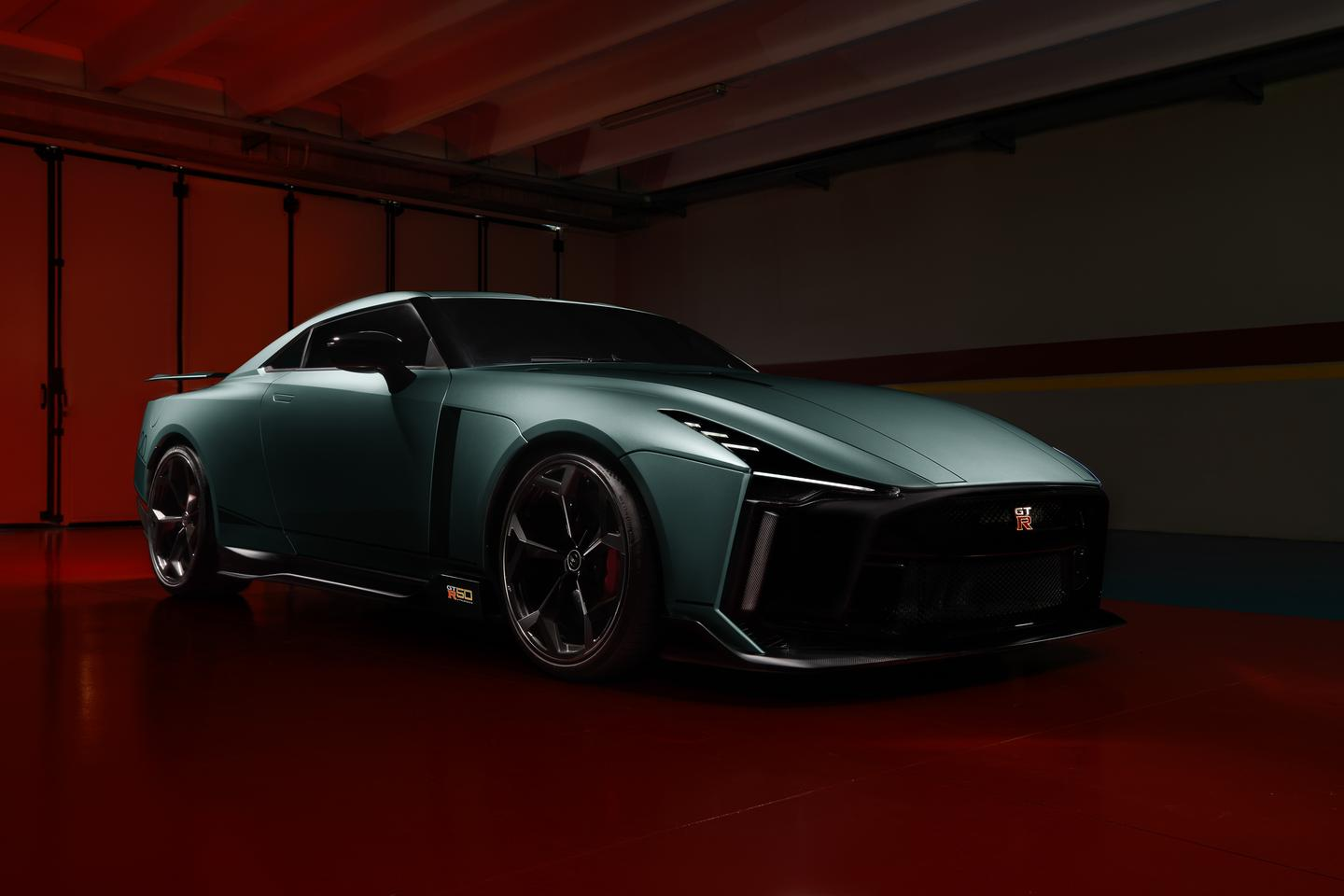 The very first production version of the Nissan GT-R 50 has arrived