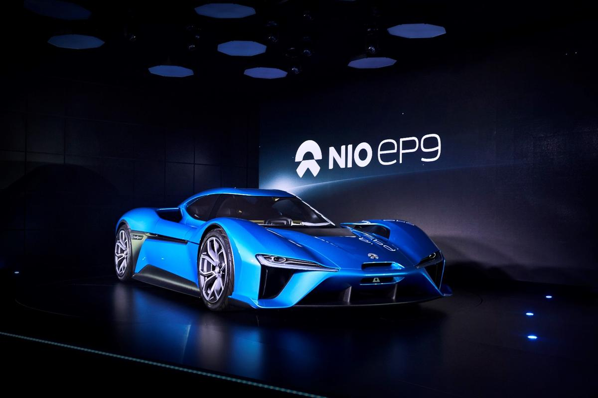 The 1-megawatt (1,341-horsepower) NIO EP9 is designed to be the fastest electric car ever built, and has already set the fastest EV time around the Nordschleife