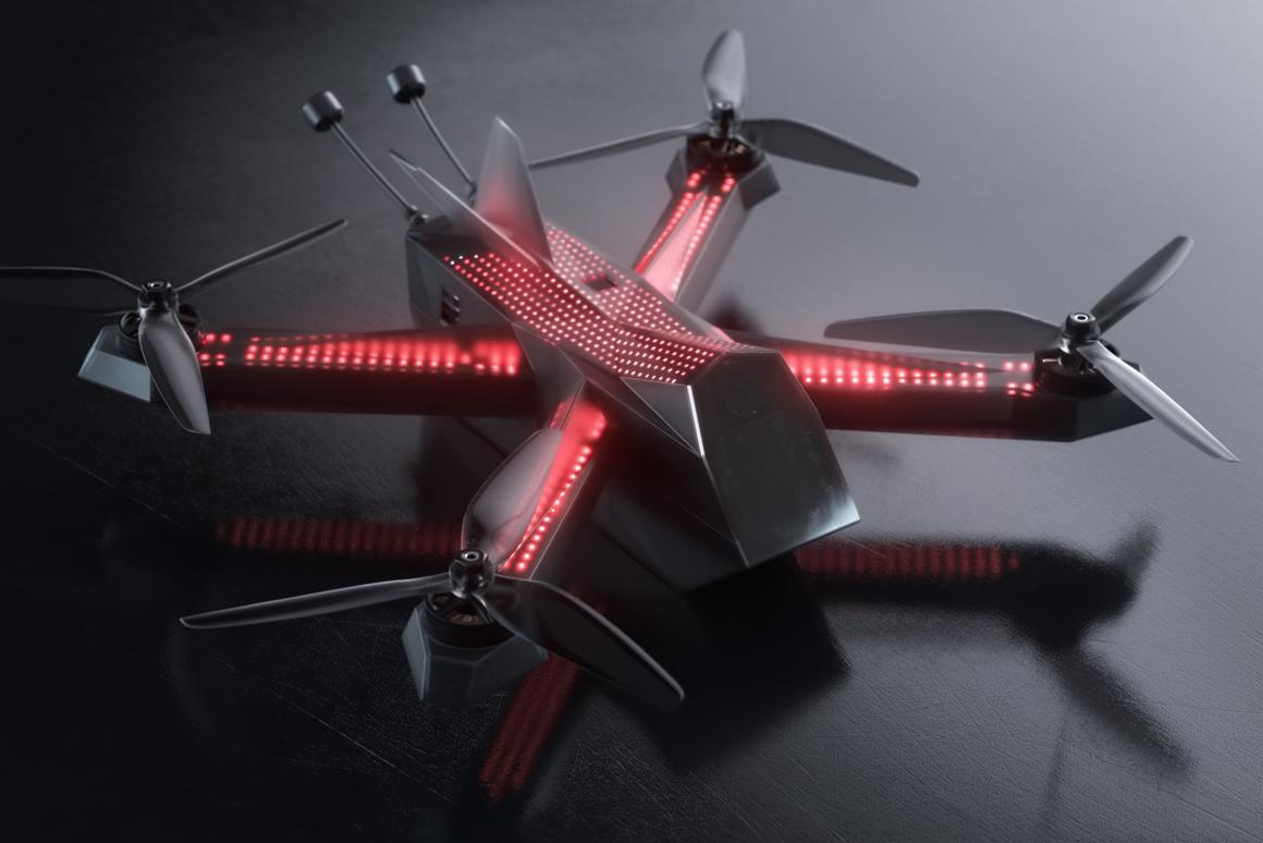 The DRL Racer4 Street drone is raising funds on Kickstarter