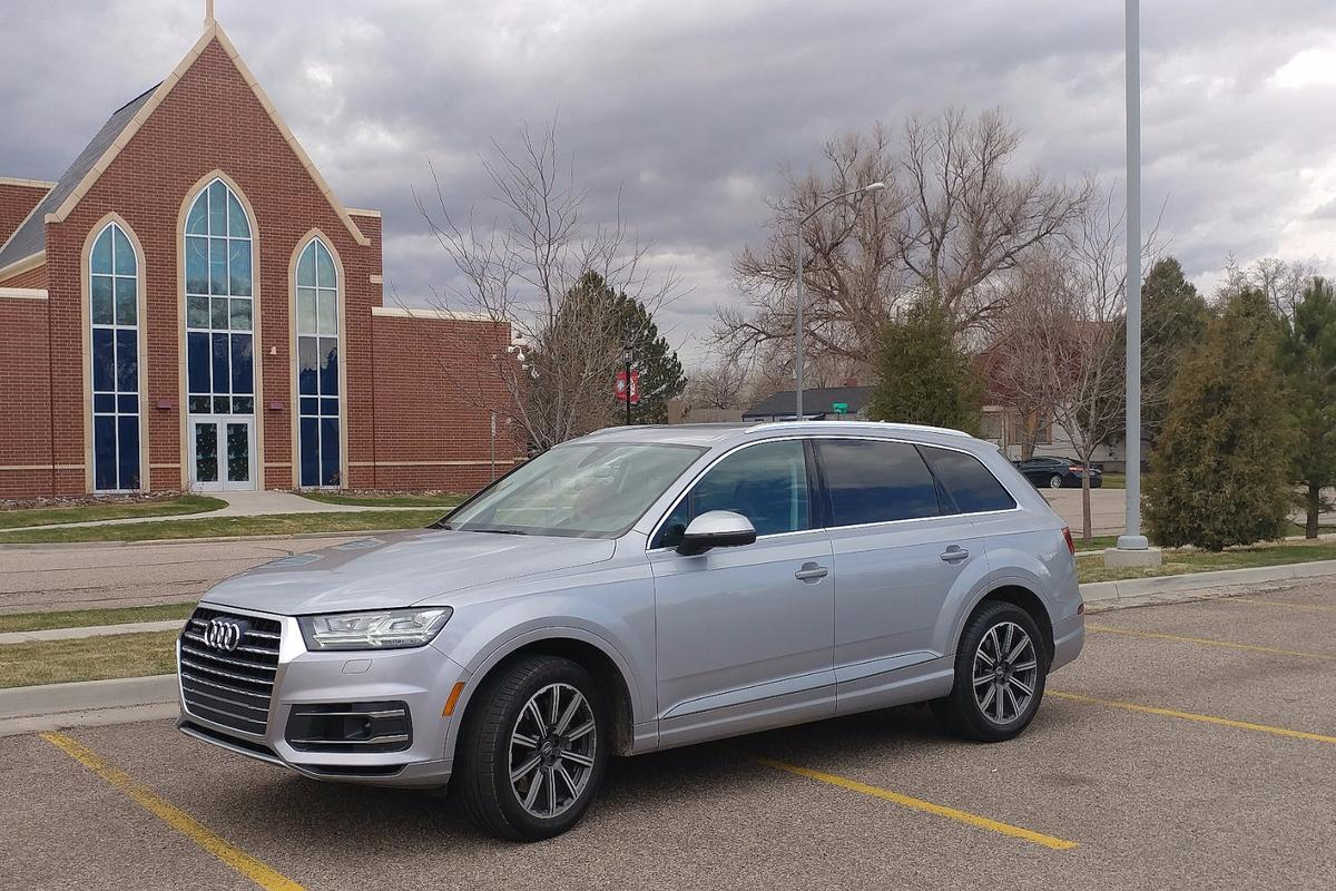 On the road, about town, the Q7 is zippy out of the light and careful in the parking lot