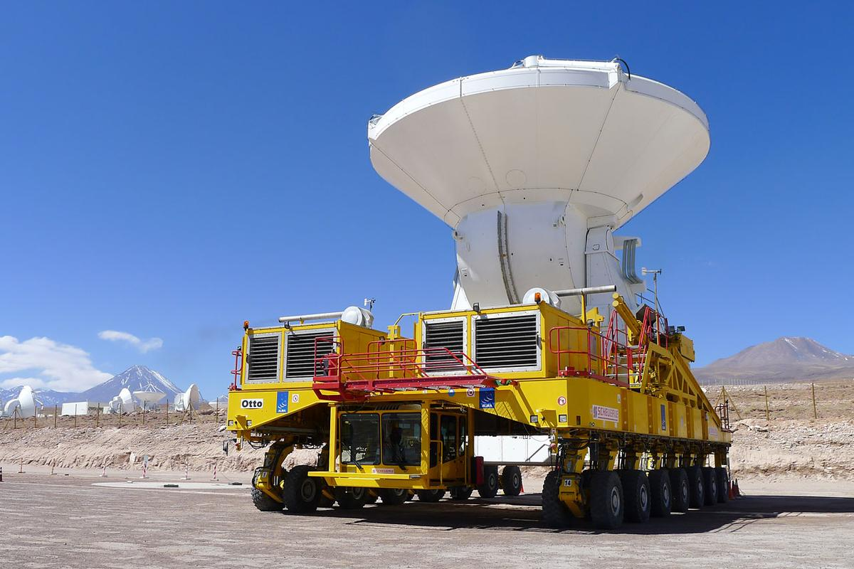 The last antenna arrives at the ALMA observatory in Chile (Image: ESO)