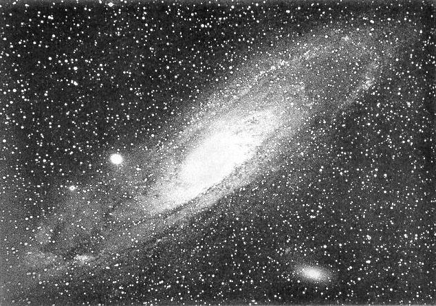 In the late 19th century Isaac Roberts captured this first ever image of the Andromeda galaxy, then only identified as a nebula
