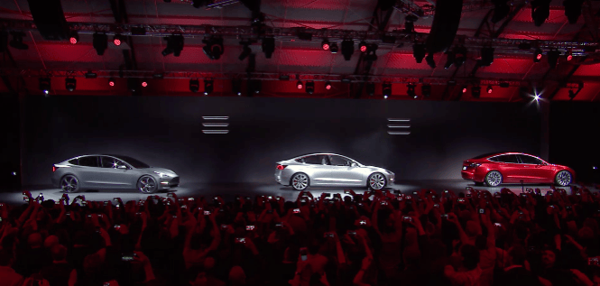 The Tesla Model 3 unveiled