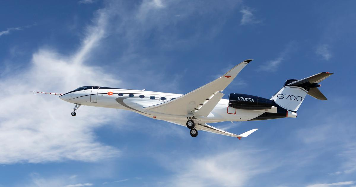 Gulfstream's flagship G700 business jet makes its maiden flight