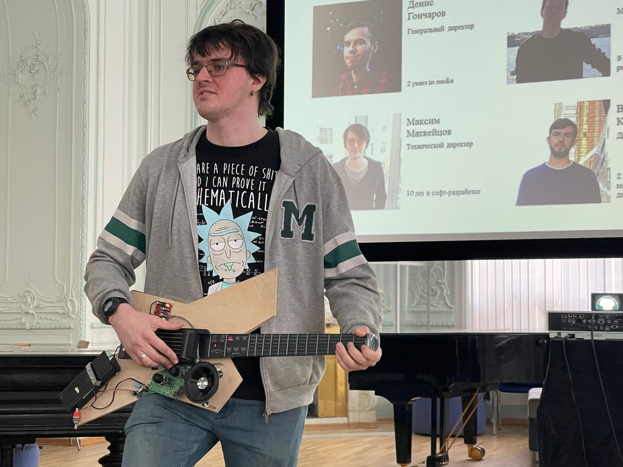 The Noli smart guitar is currently at the prototype stage of development