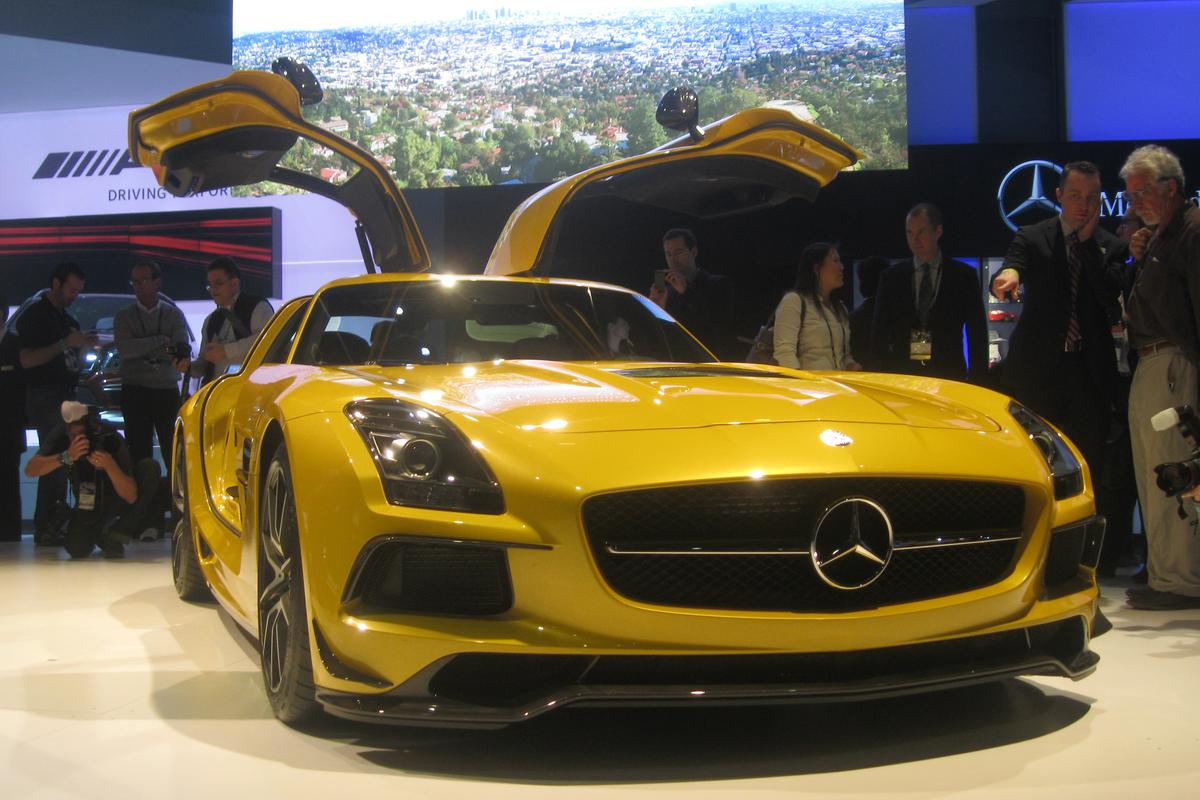Mercedes calls the Black Series the most extreme SLS