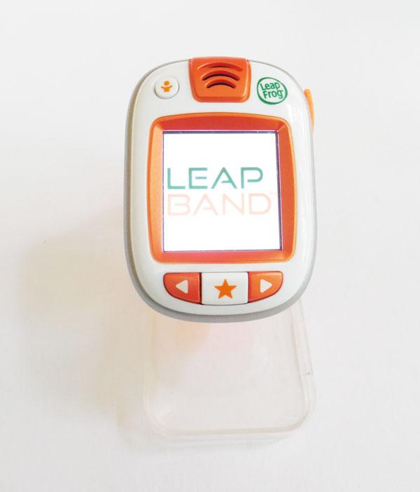 LeapBand is a children's activity tracker that encourages them to move through activity challenges and exciting games (Photo: Lakshmi Sandhana/Gizmag)