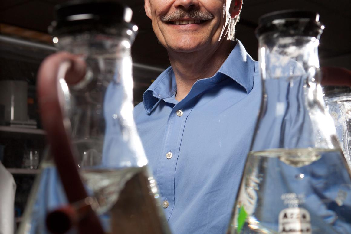 Michael Adams, of UGA's Bioenergy Systems Research Institute, helped develop a microorganism that could produce fuel from atmospheric CO2