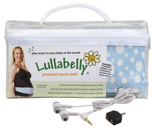 Lullabelly prenatal belt is used to play music to your child