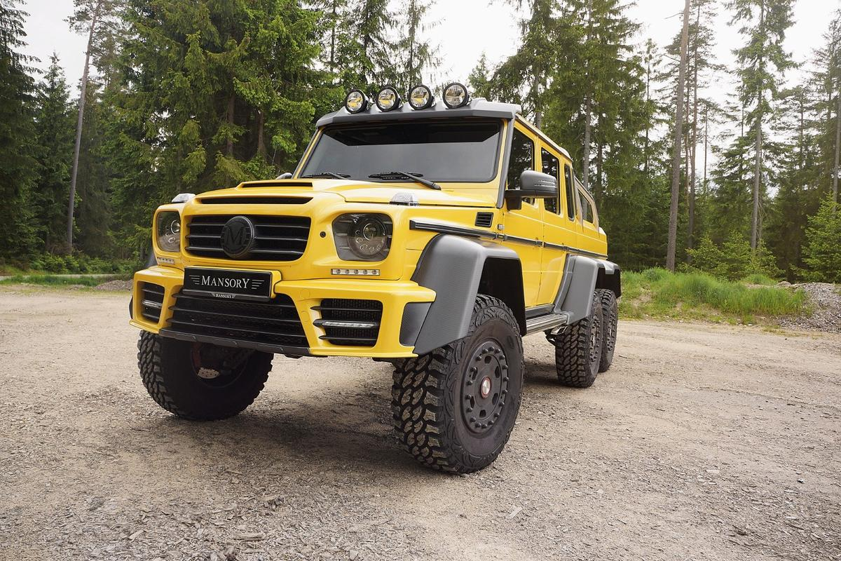 Mansory tunes the Mercedes G63 AMG 6x6