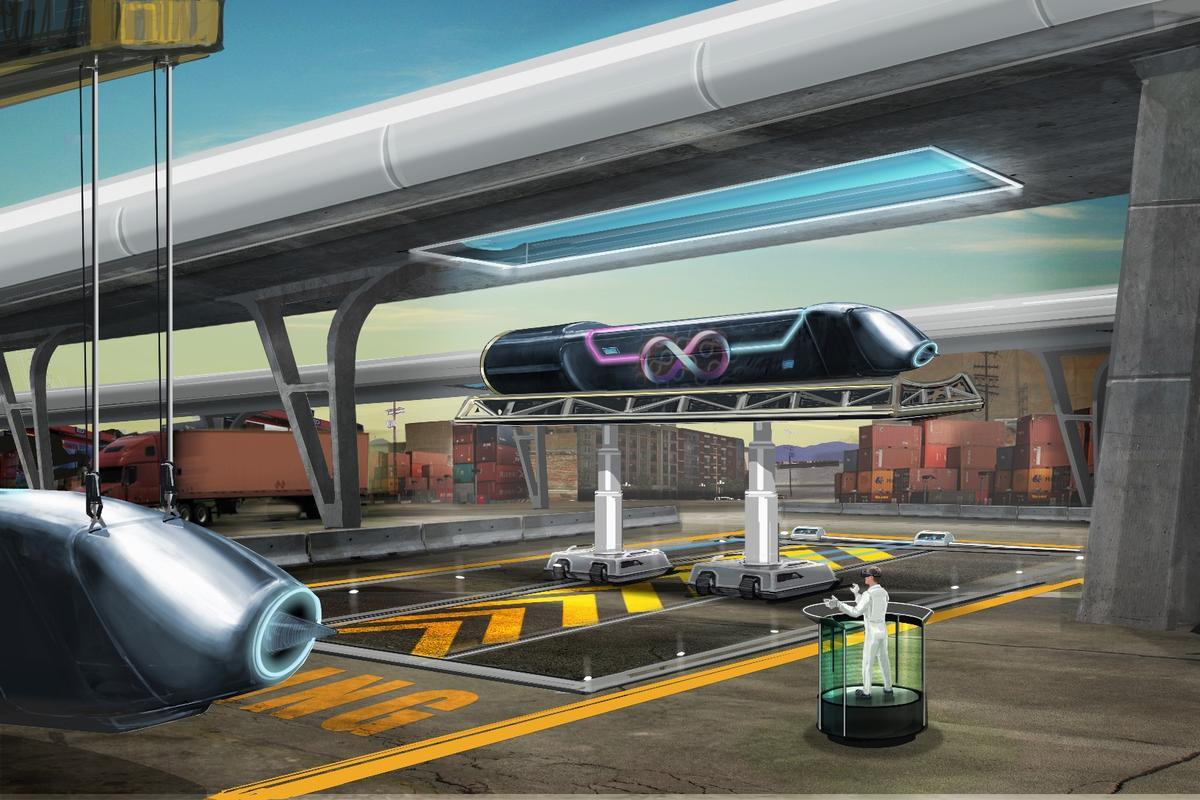 Hyperloop One is proposing a line running between Finland and Sweden