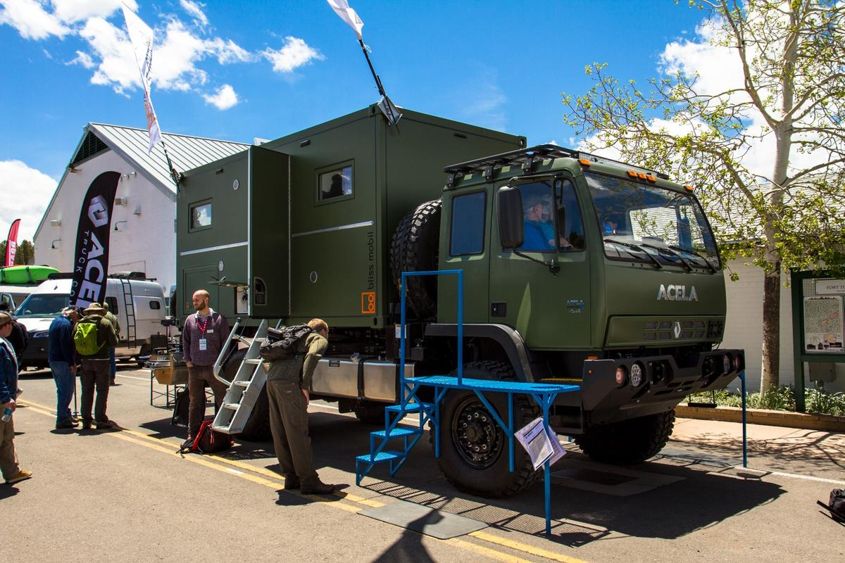 Bliss and Acela reveal their creation at Overland Expo West 2019