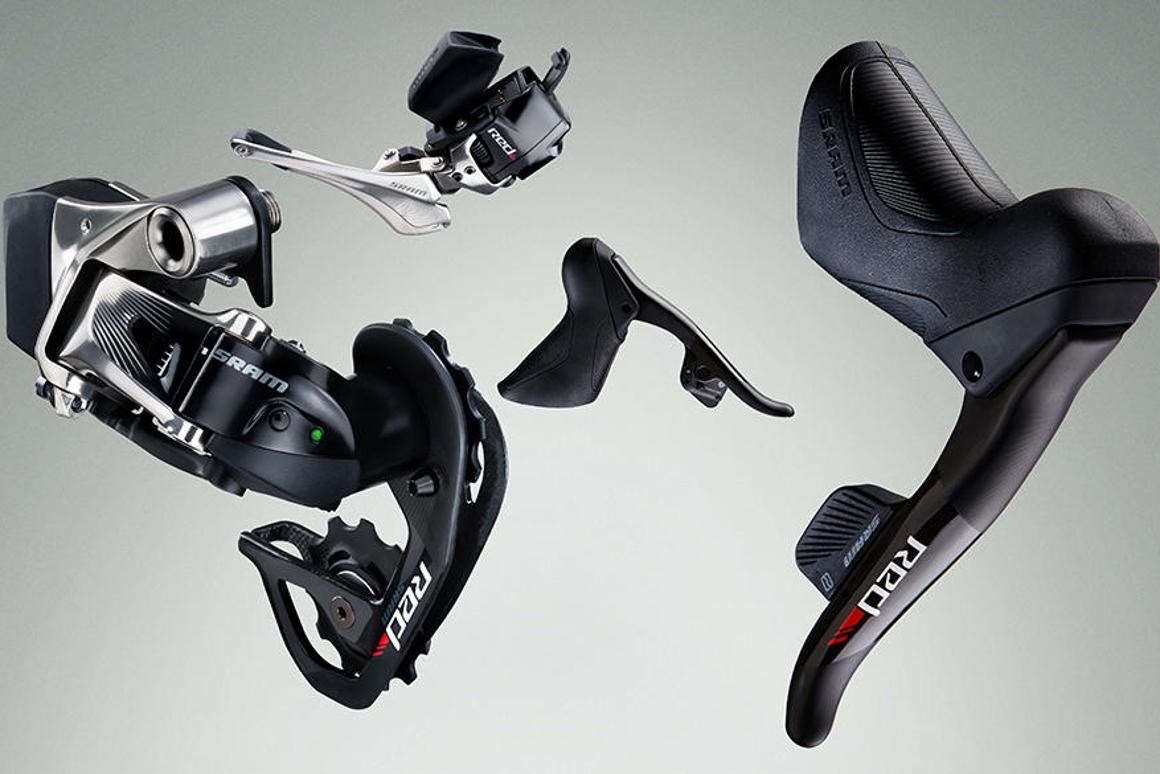 The SRAM Red eTap offers up precise, reliable shifting without any danger of cable stretching or dirt impacting your shifts