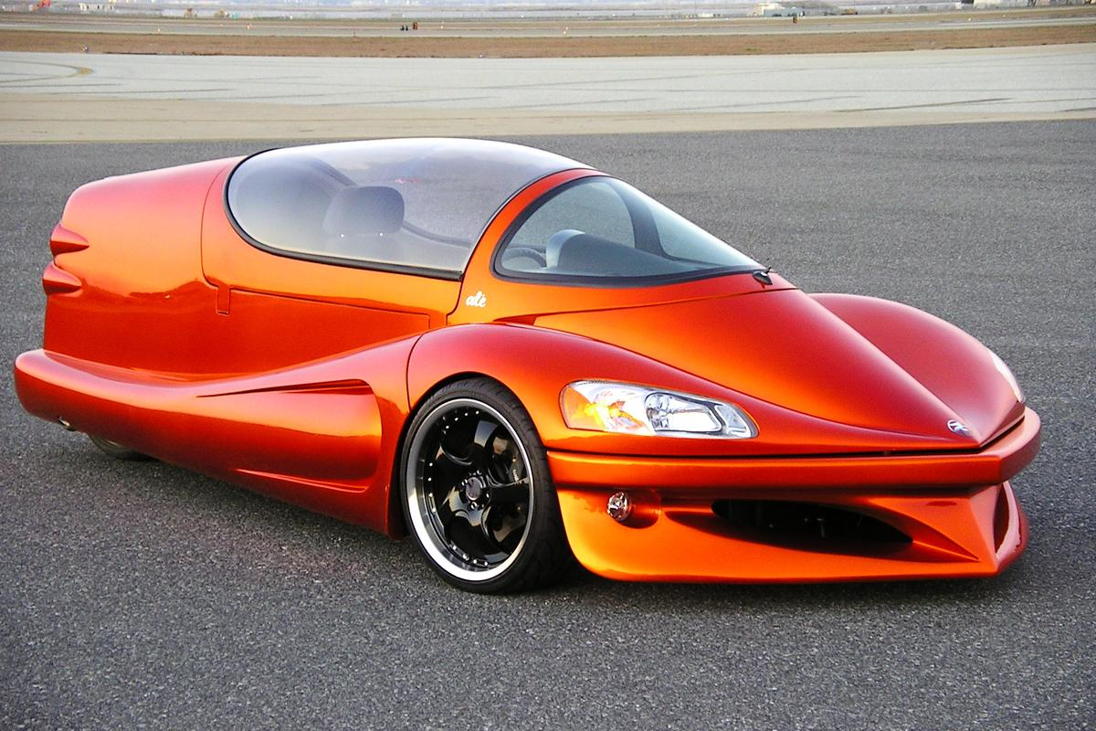 The Future Vehicle Technologies Ale', look-alike forerunner to the under-wraps eVaro