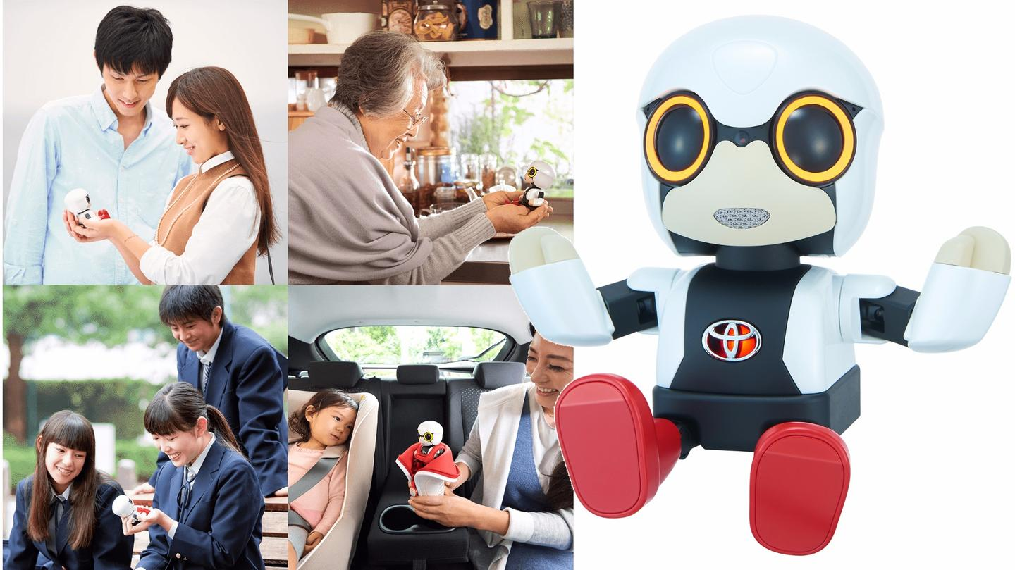Toyota's$400 companion robot gives the companyfirst-mover advantage in a personal roboticsmarketplace that'sexpected to soar in value over the next few decades.