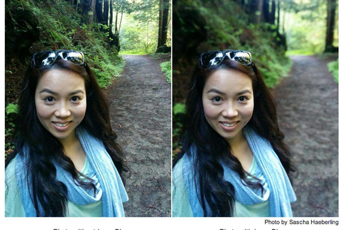 Google Camera's new Lens Blur effect simulates bokeh