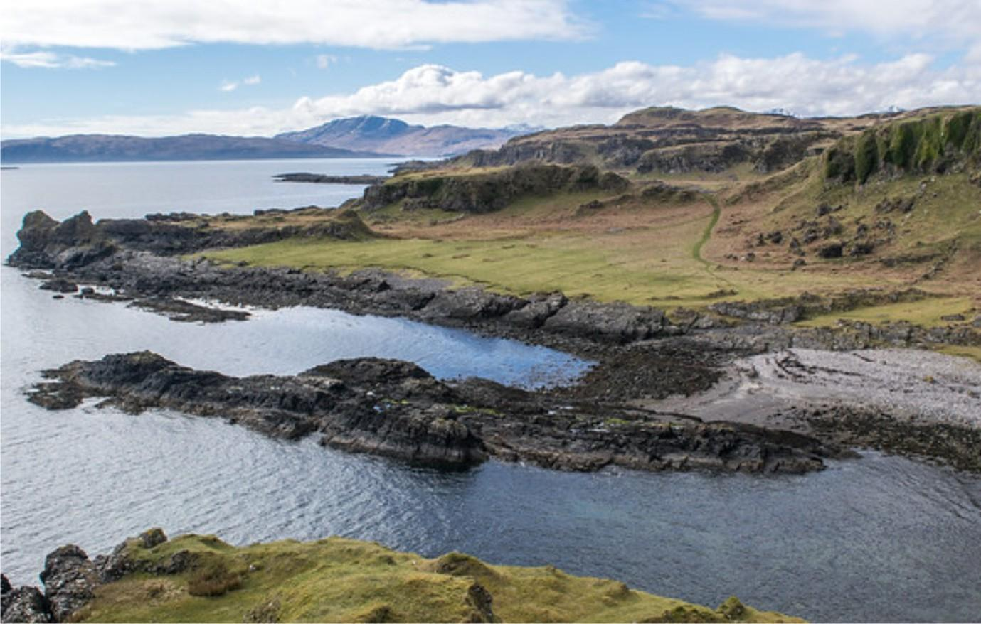 The fossil of the world's oldest known bug was found on the island of Kerrera in Scotland