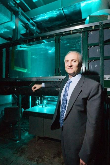 Michael Bernitsas, professor in the Department of Naval Architecture and Marine EngineeringPhoto credit: Scott Galvin
