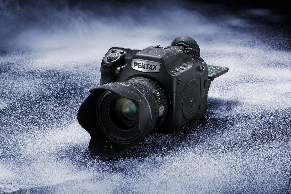 The Pentax 645Z is the latest medium-format camera to use a CMOS sensor