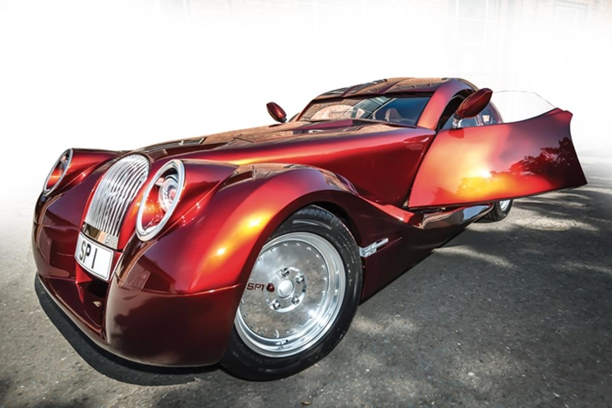 The Morgan SP1 is a custom-build, and the first from the company's Special Projects Division