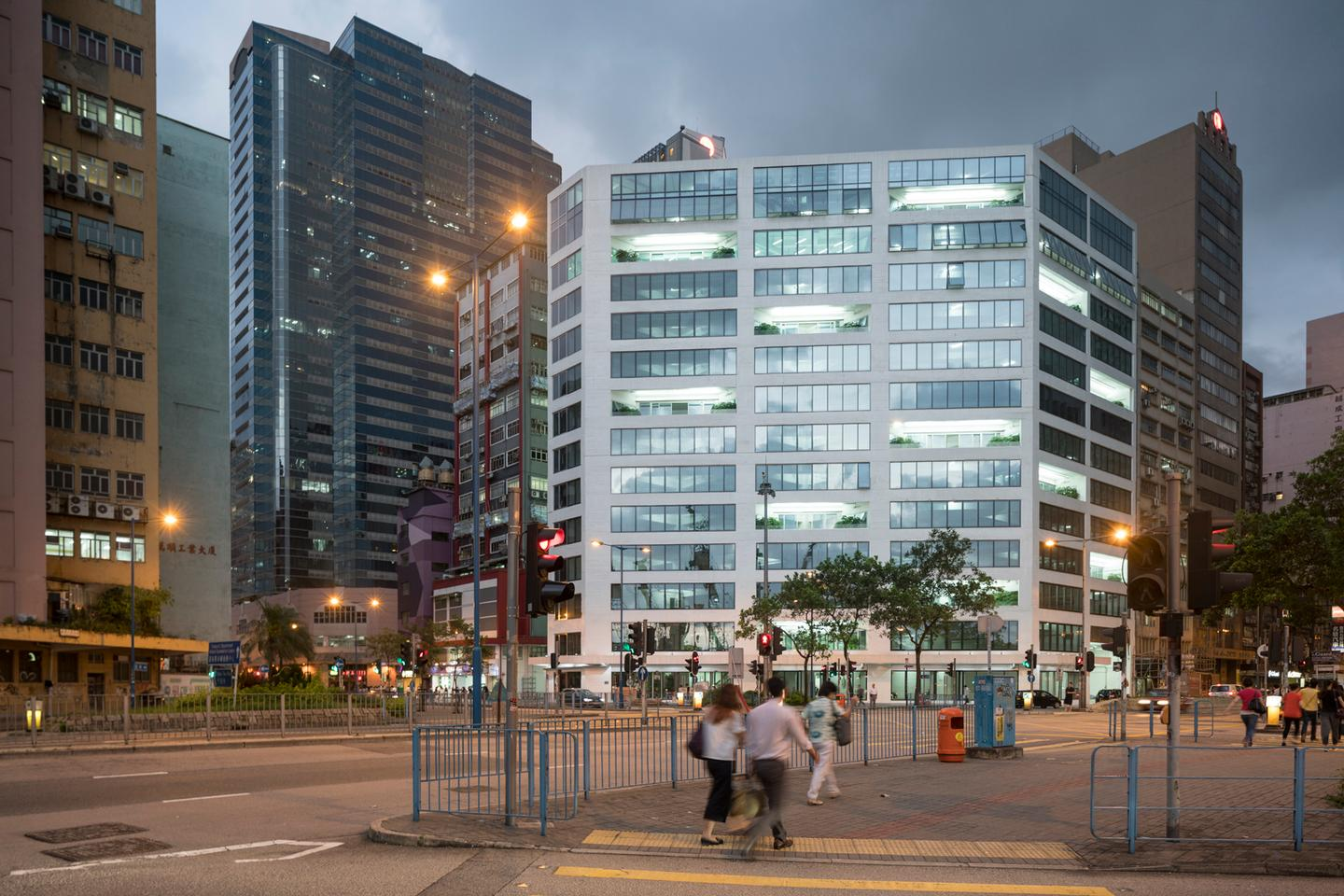 The project is located in East Kowloon,  Hong Kong
