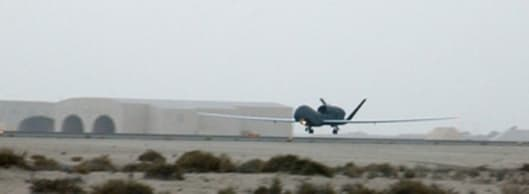 RQ-4A Global Hawks DeployPhoto: Northrop Grumman
