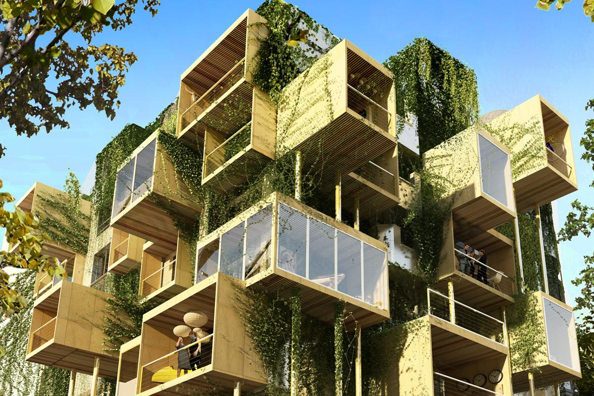 """The Plug-in-City 75 fromFrench """"guerrilla architect"""" Stéphane Malka"""