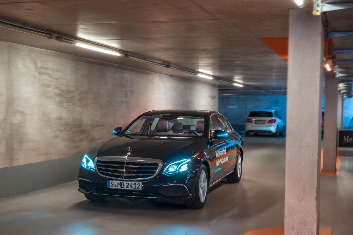 After launching today, Daimler's autonomous valet system will be put through a trial phase