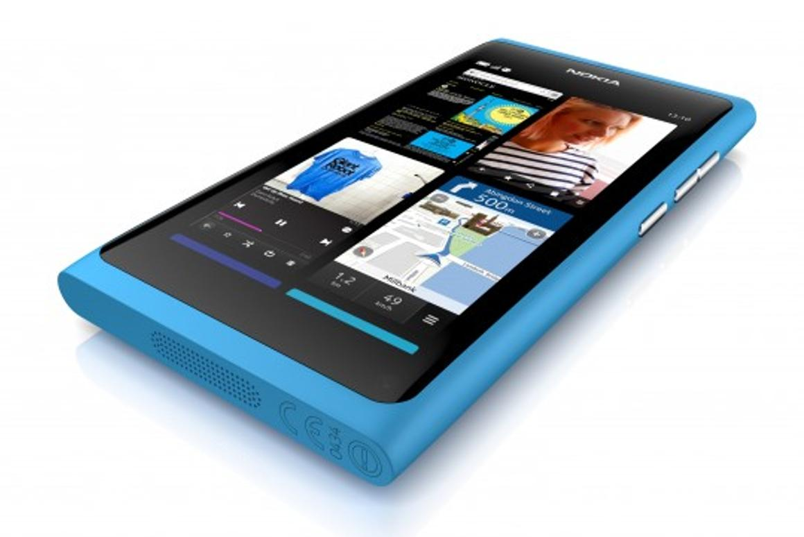 Nokia has unveiled the N9, its first smartphone featuring the MeeGo mobile operating system