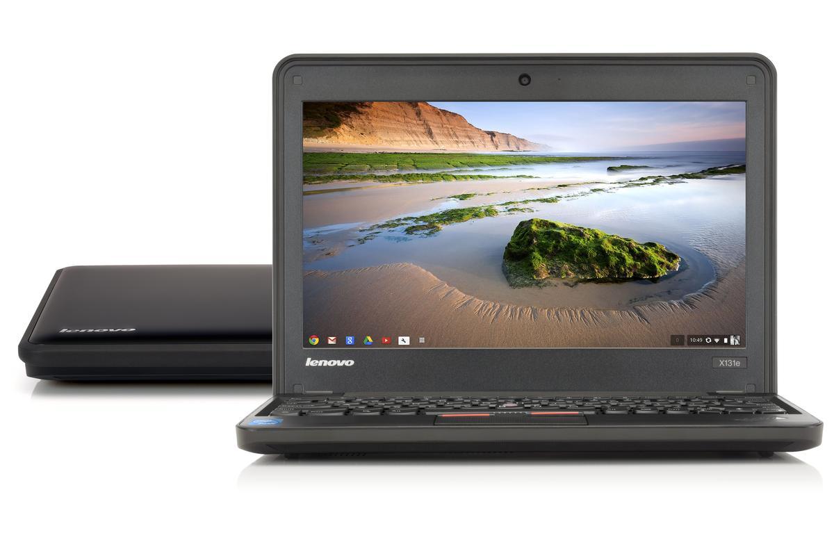 The Thinkpad X131e Chromebook from Lenovo
