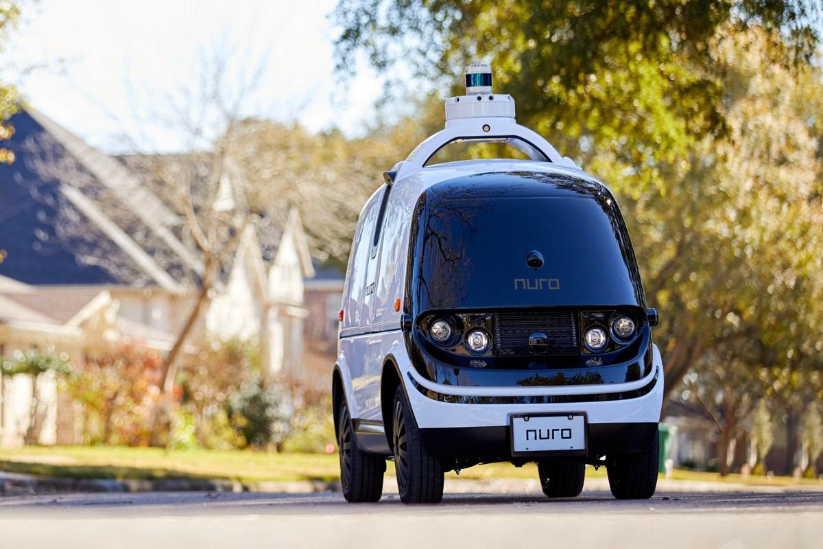 Nuro's R2 delivery pod has received the first ever self-driving vehicle exemption from the US Department of Transport