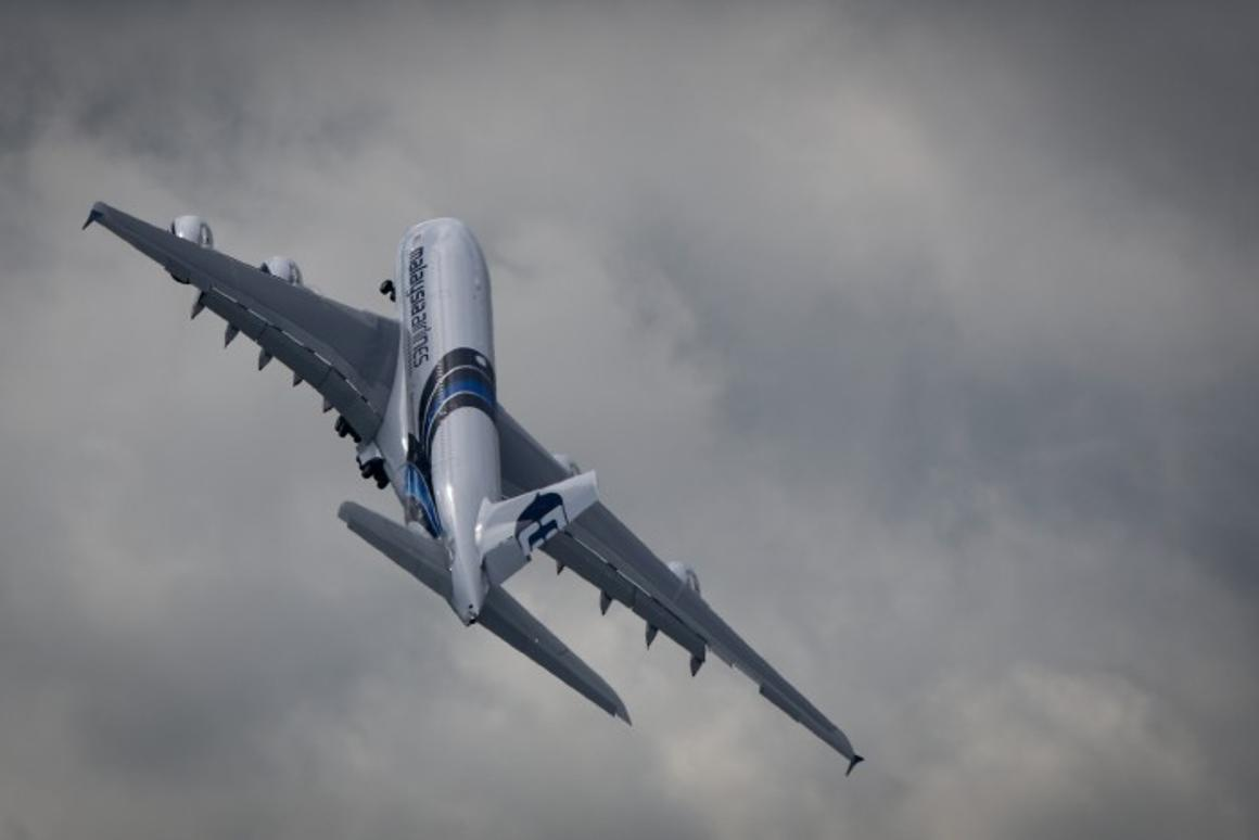 Test flights of the Vienna University of Technology/EADS thermoelectric Energy Harvesting Modules have been carried out on Airbus aircraft (Photo: Airbus A380, Noel McKeegan/Gizmag)