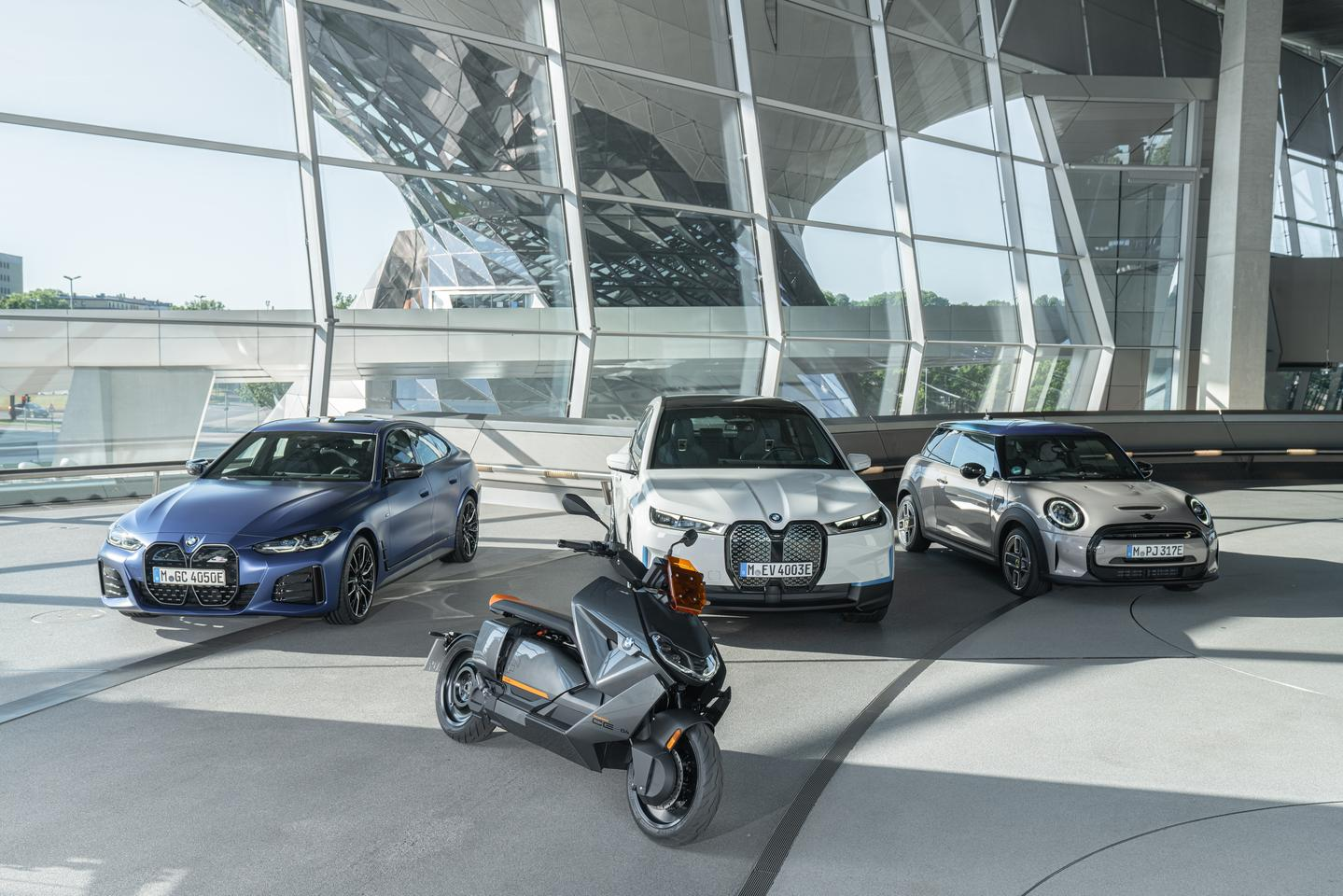 """The CE 04 is the latest member of BMW's all-electric vehicle family, with the company saying that """"all future new BMW Motorrad models for urban mobility will be pure electric"""""""