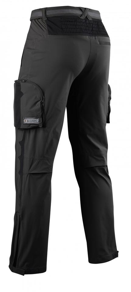 X-Bionic Mountaineering Pants include many integrated thermal management features