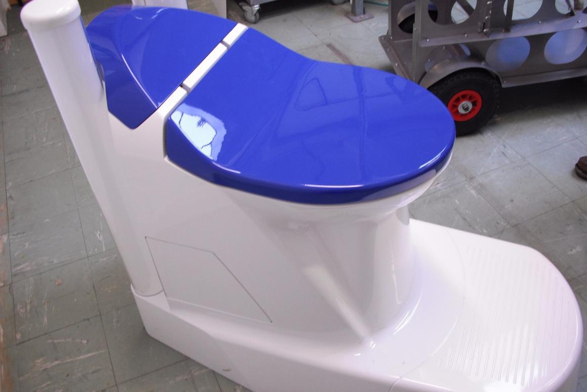 Nano Membrane toilet prototype