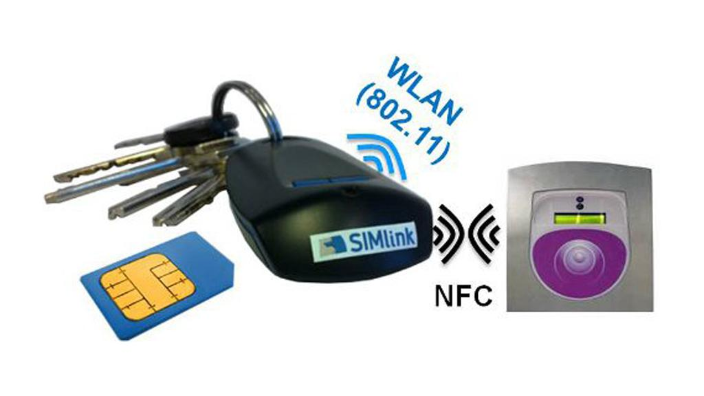 The key fob connects via Wi-Fi to add NFC capabilities to any mobile phone