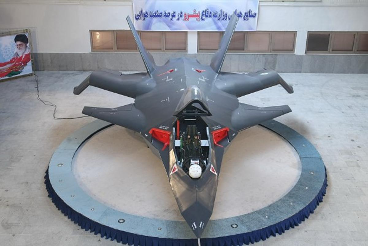 Iran's domestically designed and built Qaher F-313 (Dominant F-313) combat aircraft